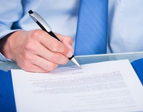 Legal document writing service